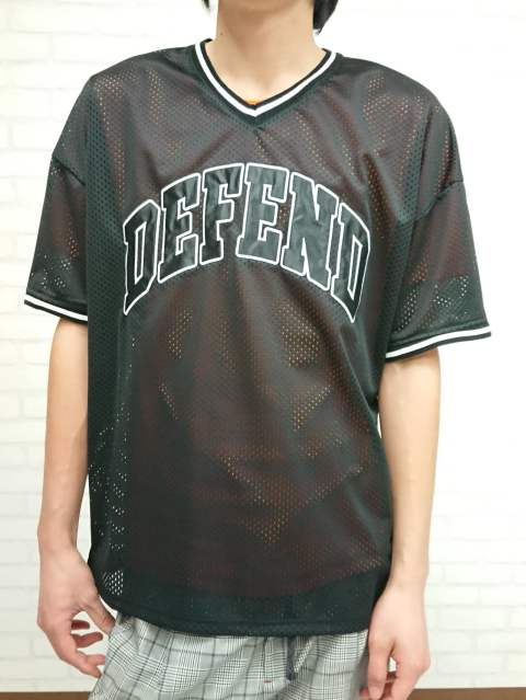 【DEFEND PARIS】SPURS TEE/BLACK