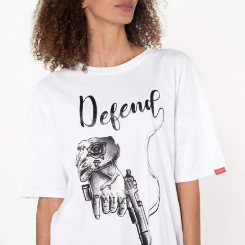 【DEFEND PARIS】HAND TEE/WHITE
