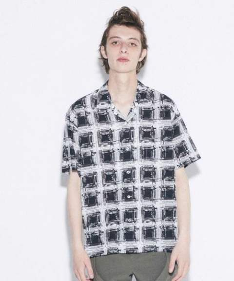 〔Iroquois〕 K.Y.R OMBRE CHECK/OFF WHITE