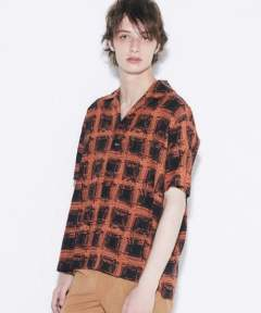 〔Iroquois〕 K.Y.R OMBRE CHECK/ORANGE