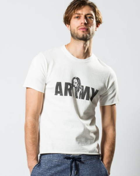 【wjk】 lady ARMY cut&sewn/カットソー/Tシャツ