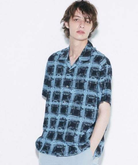 〔Iroquois〕 K.Y.R OMBRE CHECK/TURQUOISE