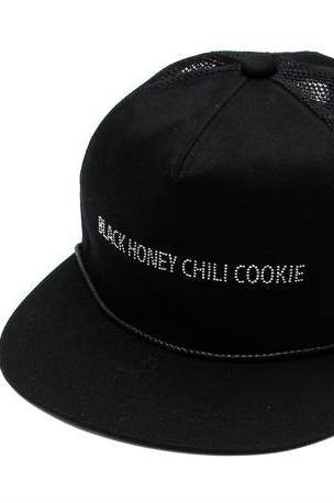 B.H.C.C SWARO Baseball Cap / BLACK 2902702【BLACK HONEY CHILI COOKIE ブラックハニーチリクッキー】