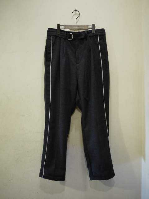 【EGO TRIPPING】【先着予約】【8月/中~入荷予定】MARCHING TROUSERS/CH Herringbone