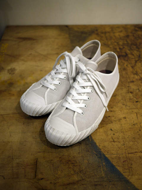 WWⅡ ATHLETIC SNEAKER-suede-/L.GY【EGO TRIPPING】