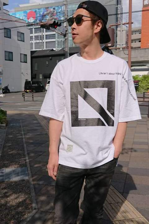 【EGO TRIPPING】E.ICON & MESSAGE TEE/WHITE