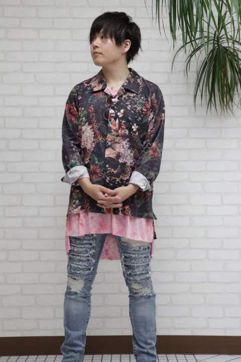 EAGLE FLOWER SHIRT 【SWITCH BLAD】