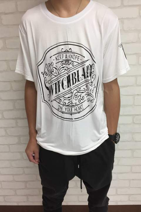 EMBLEM TEE WHITE No.1901109 【SWITCH BLADE】