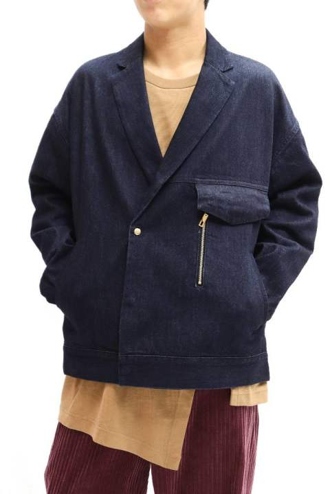 【JAPAN DENIM】DOUBLE TAILOR ZIP JACKET 【CULLNI】