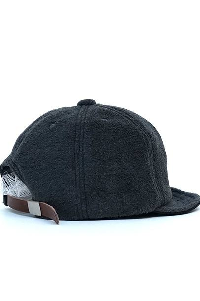 BRIDGE CAP-FLEECE/GRAY【Mighty Shine マイティーシャイン】