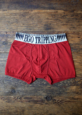 ARROW HEAD BOXERPANTS / RED