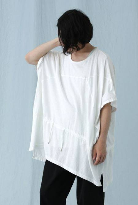 PATCHWORK PONCHO/WHITE【Iroquois】