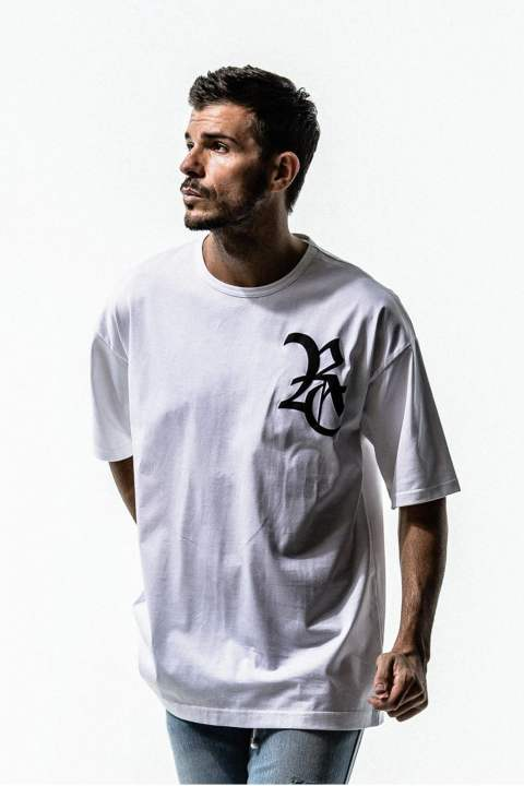 RC ROGO LOOSE TシャツWHITE RC15-T-004【RESOUND CLOTHING】 RC15-T-004 RESOUND CLOTHING